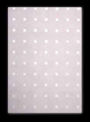 25 Blatt DIN A3 Transparentpapier Zanders Spectral Times Square, Quadratmuster