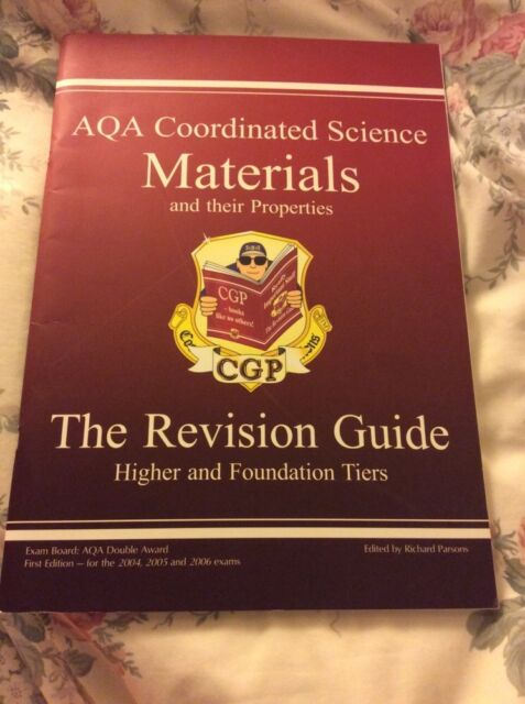 GCSE AQA Coordinated Science: Materials and Their Properties Revision Guide by R