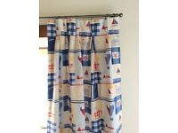 Jane Churchill Children's Bedroom Curtains Plus Cushions. Ex Con