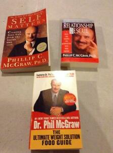 Various Dr. Phil Books for Sale