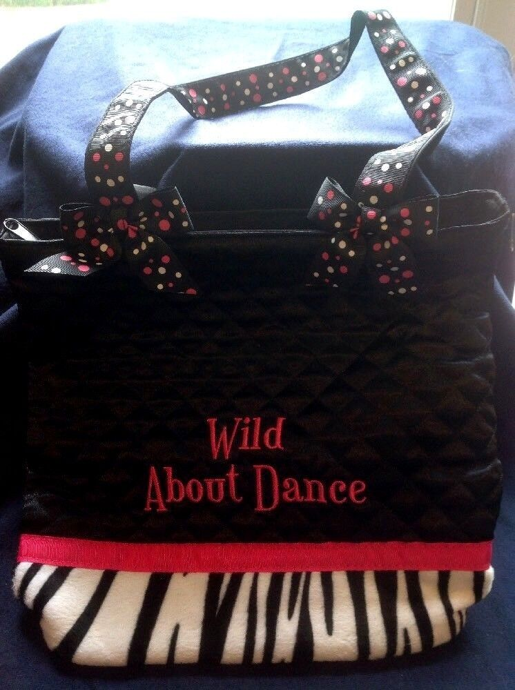 Wild About Dance Tote Bag By SassiDesigns - 10 X 10 - New