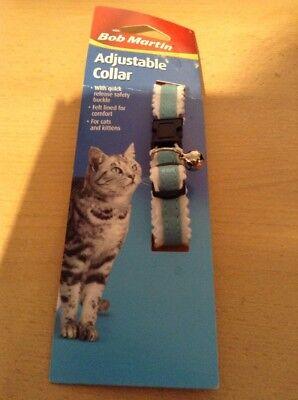 New Adjustable collar for cats and kittens . Bob Martin adjustable collar 😻😾😺