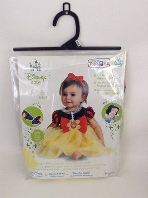 Infant Princess Costume (Disney Baby Princess Snow White Infant Costume with Accessories 6-12 Months)