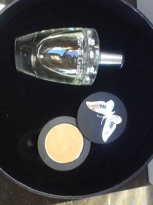 Lalique Fleur De Cristal 2 Pc Gift Set 3.3 Eau De Parfum And Mirror