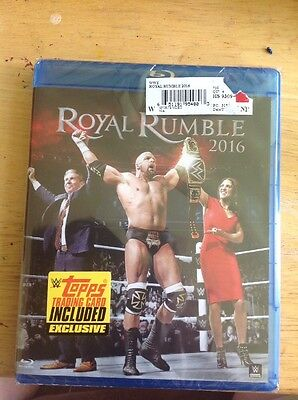 WWE: Royal Rumble 2016 (Blu Ray)NEW-AUTHENTIC US Release