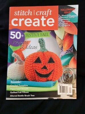 STITCH CRAFT CREATE 50+ Projects and Ideas Fall 2012 (Fall Craft Projects)