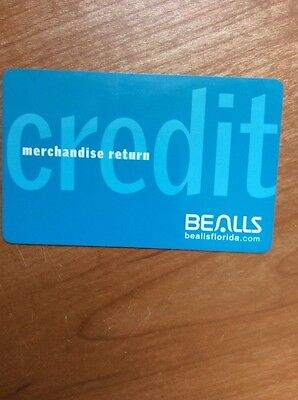 Bealls Stores Credit Card With  46 04 Does Not Expires Balance Doubled Checked