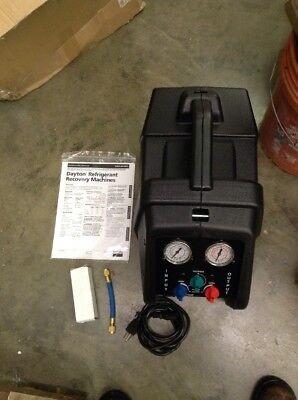 Dayton Refrigerant Recovery Machine 4ukv9 Ppj000942