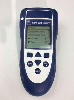 Ge Druck Dpi 821 Thermocouple Calibrator Used