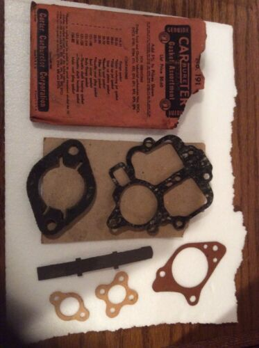 Genuine Carter Carbureter Gasket Assortment 191 1938 Chrysler 1947