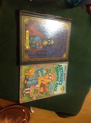 Lot of (2) Arthur Books - Hardcover Arthur's Halloween - Softcover Arthur's - Arthur's Halloween Books