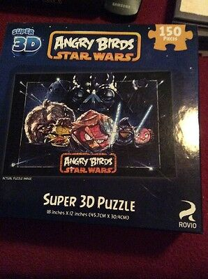3D Star Wars Angry Birds Puzzle NIB