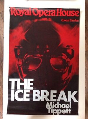 ROYAL OPERA HOUSE, THE ICE BREAK, POSTER