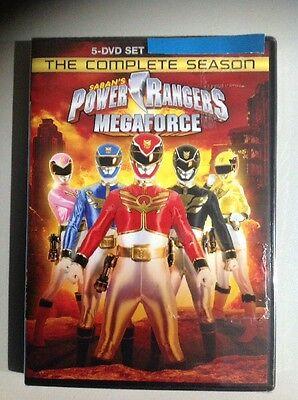 Power Rangers MegaForce. The Complete Season (5 DVD Set) New. Read Details.