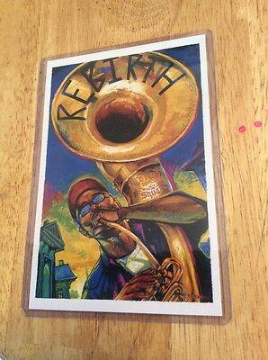 2007 New Orleans Congo Square Poster Postcard Rebirth Philip Frazier T Osborne