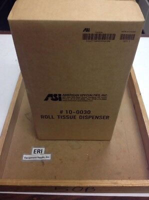 ASI 10-0030 Tissue Paper Dispenser, Dual Roll, Surface Mount, Stainless. Loc 64A