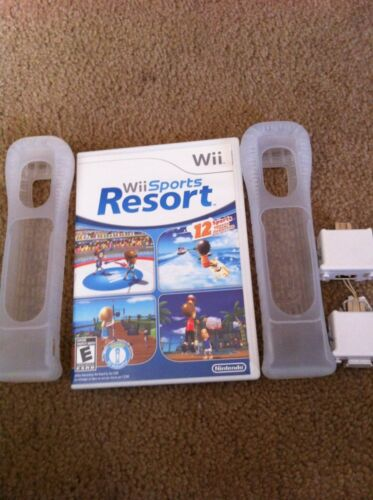 Wii Sports Resort  (Wii, 2009) Game And Wii Motionplus For Two Remotes
