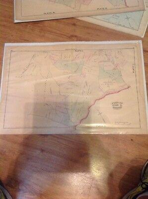 1877 G.M. Hopkins,Old Court Road Windsor Road Bens River Dogwood Road Map