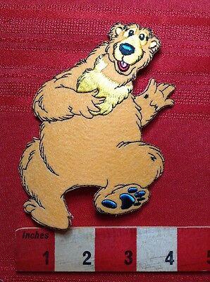Fun DANCING BEAR Patch. Party Animal 68WG - Dancing Bear Parties
