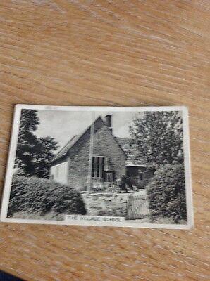 Cigarette Card Senior Service Our Countryside Village School Church Knowle N16