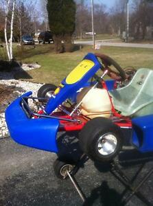 LOOKING TO TRADE A GO KART FOR CBR600/1000 ZX6/10R GSXR600/750/1