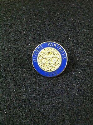 Global Partners 1998 Enamel Lapel Hat Pin