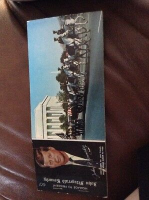 John F Kennedy Memorial Post Cards Rare set of 12