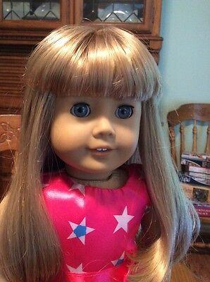 American Girl Doll JLY Blonde Hair & Blue Eyes