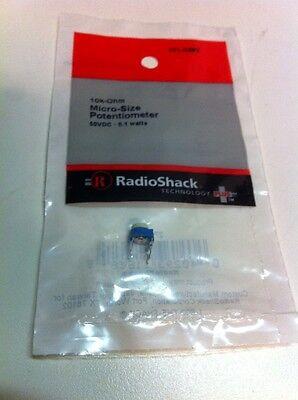 10k-ohm Micro-size Potentiometer 271-0282 By Radioshack