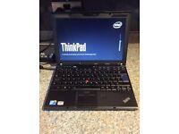 "REDUCED price: Lenovo Thinkpad X201 Executive laptop i5 processor, 12"" 4GB RAM, 240GB SSD Win7/10"