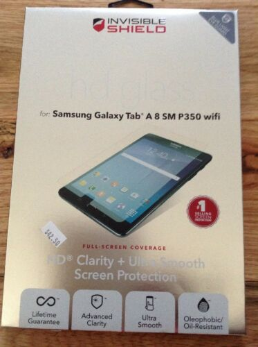 Zagg - Invisibleshield Hd Glass Screen Protector For Samsung