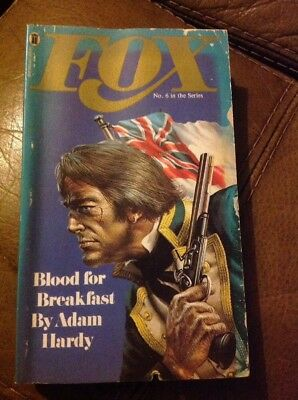 Fox 6 Blood For Breakfast By Adam Hardy Vintage Paperback 1974 NEL