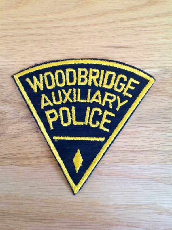 Woodbridge NJ Police Patch