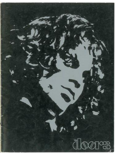 The Doors Jim Morrison RARE 1968 Waiting For The Sun Tour Program