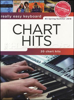 Really Easy Keyboard Chart Hits 3 Spring Summer 2018 Sheet Music Book Ed Sheeran