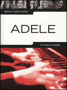 Really Easy Piano Adele Sheet Music Book Selections from 25 21 19 Hello Skyfall