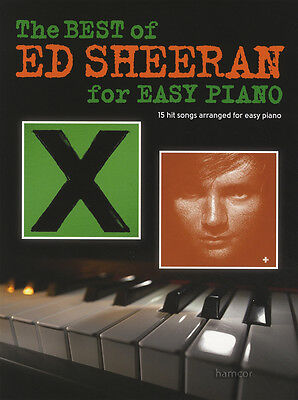 The Best of Ed Sheeran Easy Piano Sheet Music Book Photograph Sing Bloodstream