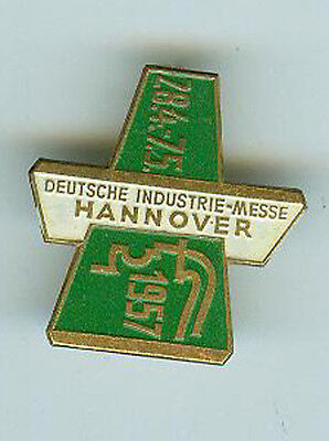 BRD Pin Anstecker Deutsche Industrie-Messe  Hannover 1957