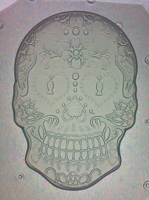 Flexible Mold Sugar Skull Day Of The Dead Resin or Chocolate Mould (Sugar Skull Molds)