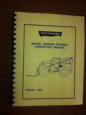 Pettibone Forklift 5528 636 Operators Manual