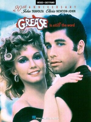 Grease Is Still the Word Sheet Music Easy Piano SongBook NEW 000316044 ()