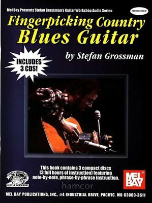 Fingerpicking Country Blues Guitar Stefan Grossman TAB