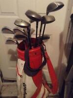 Wilson x-31 iron golf set with killer whale driver