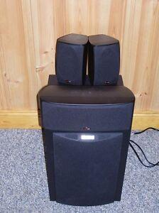 DENON 7.1 receiver AND POLK Audio 7.1 speaker system
