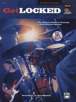 (Get Locked for Bass Guitar and Drums TAB & Music Book with CD Ultimate Guide)