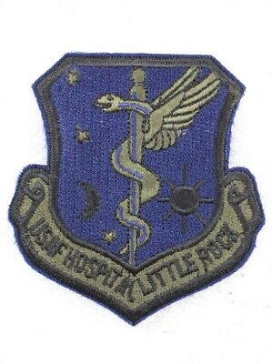 USAF Air Force Patch: Little Rock AFB Hospital - subdued