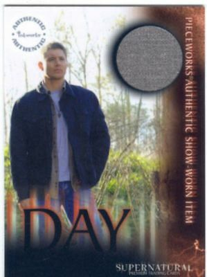SUPERNATURAL - SEA 3 - JENSEN ACKLES AS DEAN WINCHESTER PW CARD - PW13A  BV$90