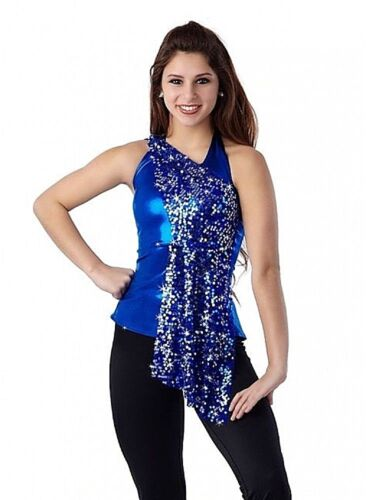 In Motion Dance Costume Sequin Mesh TOP ONLY Color Choices Child and Adult New