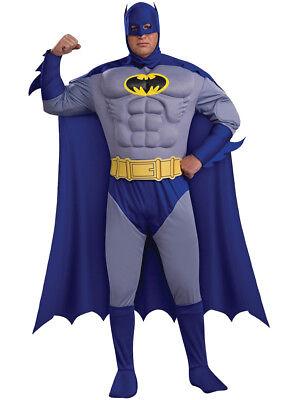 el Brust Traditionell Blau und Grau Tv-Show Batman (Batman Blau Und Grau)