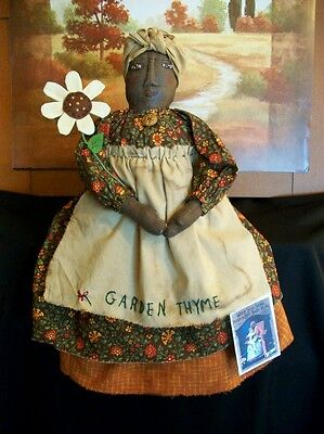 PATTERN,primitive doll,black folk art,sewing,collectible, by Dumplinragamuffin